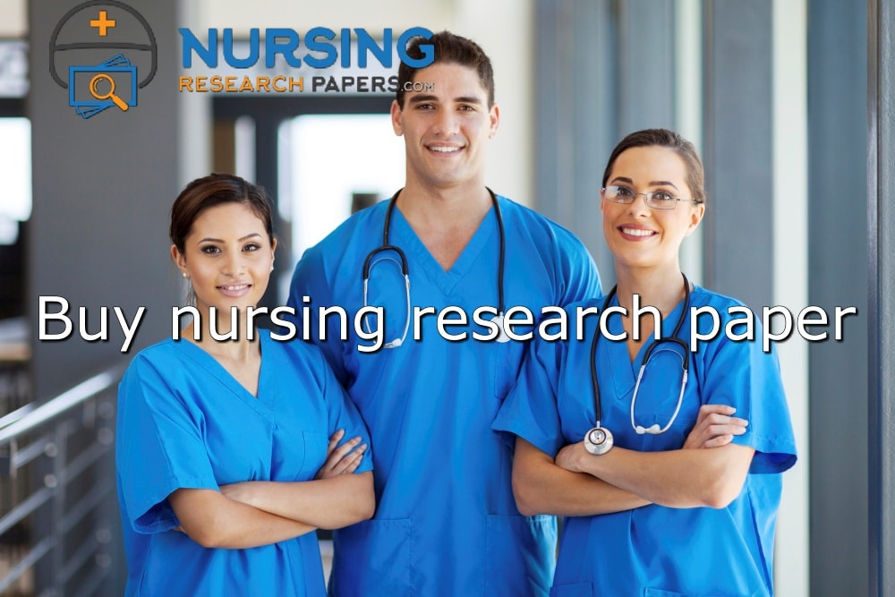 Buy nursing research paper